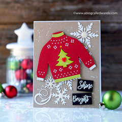 Christmas Sweater Card!