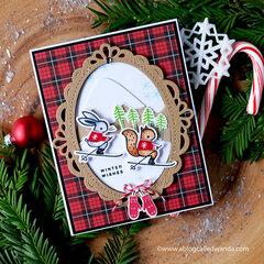 Winter Wishes Alpine Card