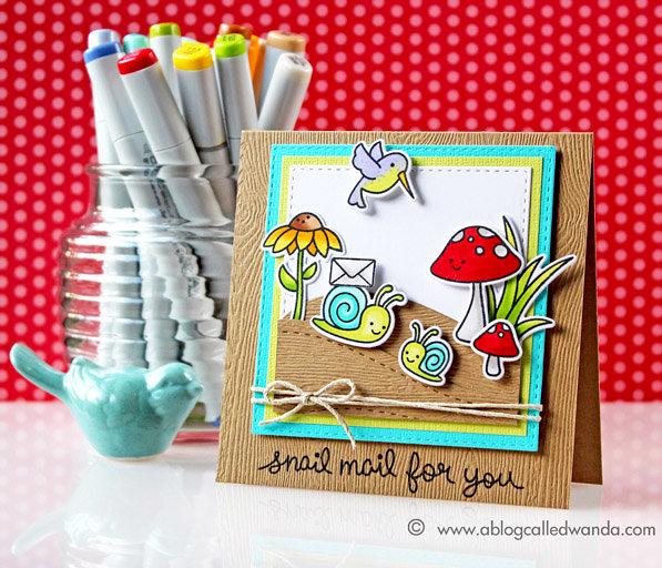 Happy Snail Mail!