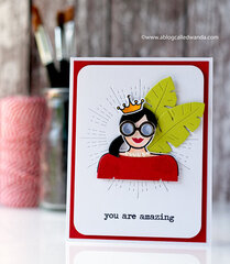 You are Amazing card!