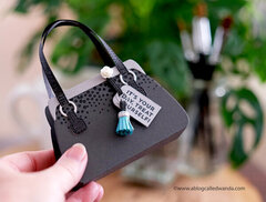 Purse Gift Card Holder with Concord & 9th Supplies!