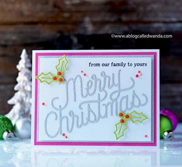 Retro Sparkly Christmas