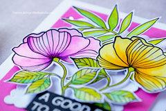 Waffle Flower Bouquet Builder Floral Card