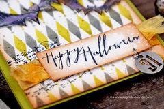 Happy Halloween with Tim Holtz Supplies