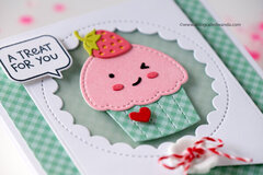 Cupcake Cutie Card with Lawn Fawn!