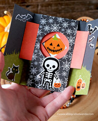Trick or Treat Shutter Card
