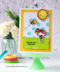 Spring Card with Doodlebug Designs!