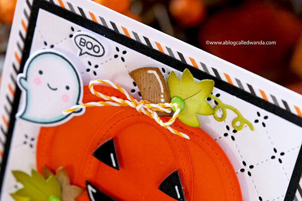 Hey Ghoulfriend! Halloween Card with Lawn Fawn Supplies!