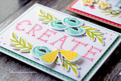 Create Love - Cards with florals and Butterflies!
