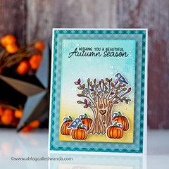Beautiful Autumn Season Card
