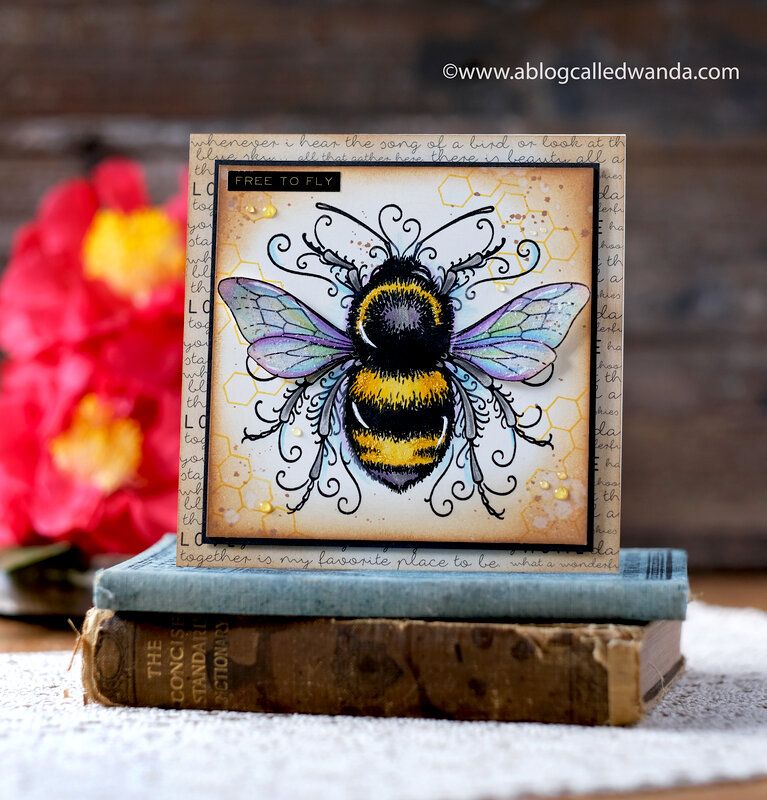 Free to Fly Bee Card