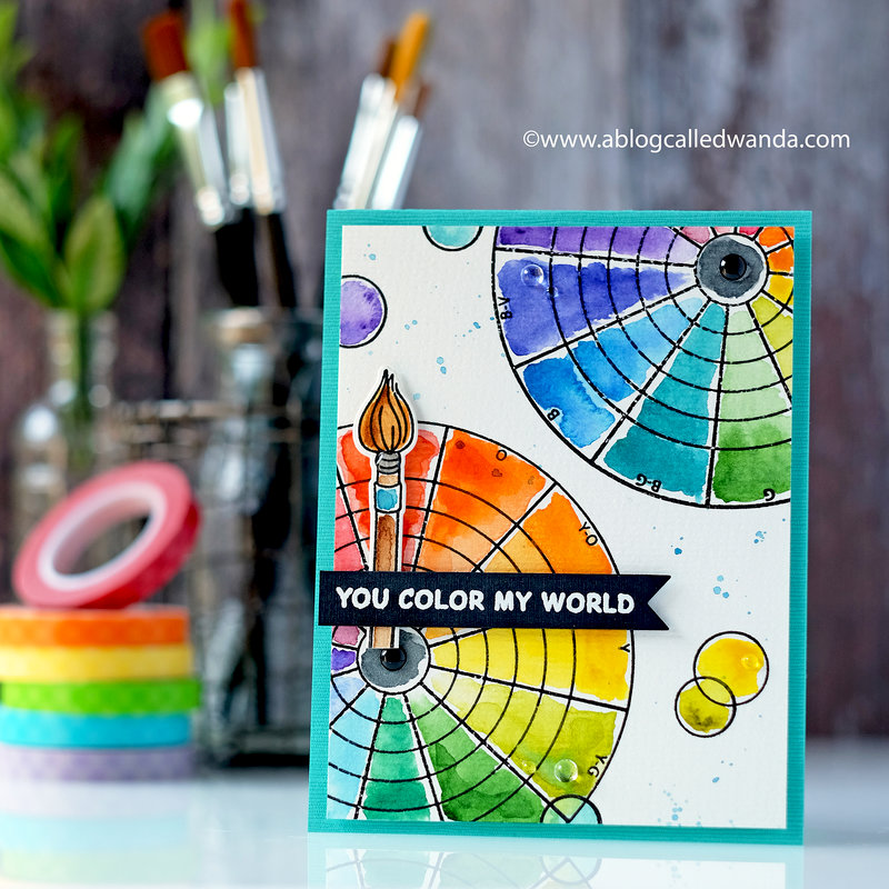 You Color My World!