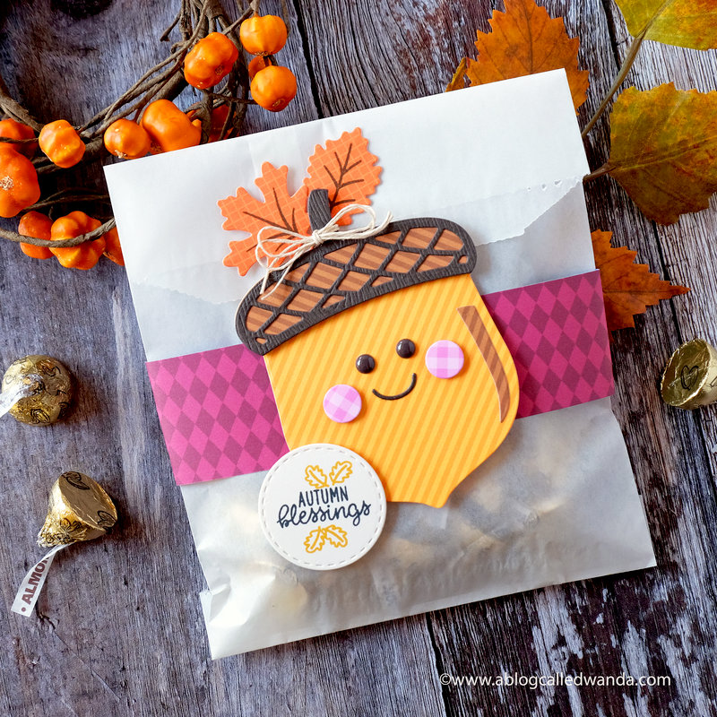 Nutty for You Acorn - Fall Treat Bag