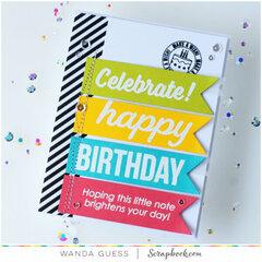Celebrate! Happy Birthday!