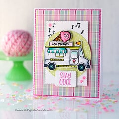 Stay Cool!! Summer Card with Catherine Pooler Stamps!