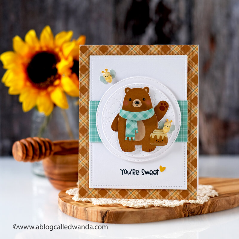 You're BEARY sweet card!