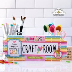 Doodlebug Craft Room Sign