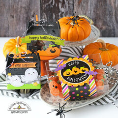 Happy Halloween Treat Boxes and Party Favors!