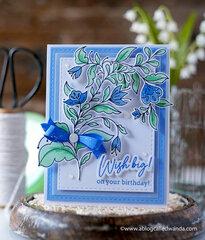 Pretty Blue Birthday Wishes!