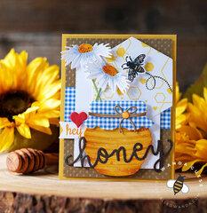 Hey Honey Card with Hero Arts!