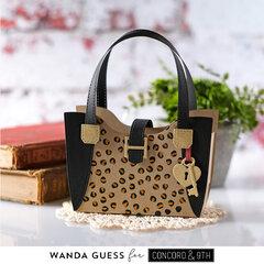 Leopard Print handbag treat/favor box!