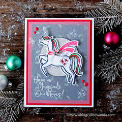 Magical Christmas Unicorn!