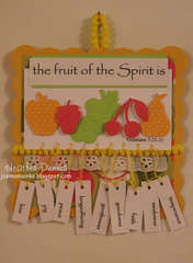 Fruits of the Spirit wall hanging