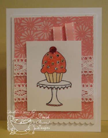 Blingy Cupcake