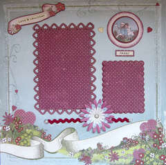 Love & Laughter Raggedy Ann and Andy Pre-made page