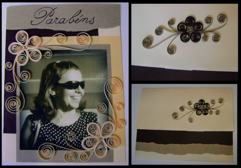 Birthday Card - Quilling