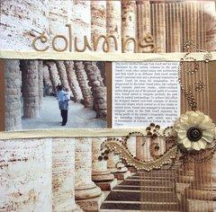 Gaudi's Columns