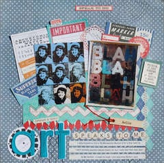 Art Speaks to Me *Scrapbooking From The inside Out July Kit*