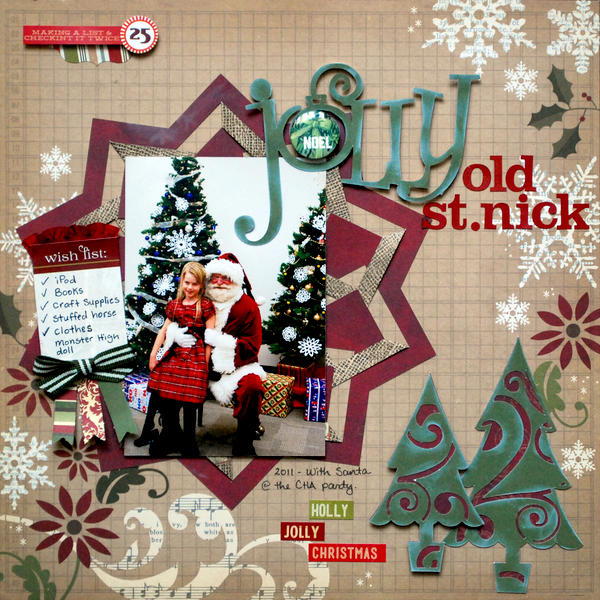 Jolly Old St. Nick *Artful Delight Kit Club*