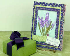 Bluebells Card by Dana DeCarlo