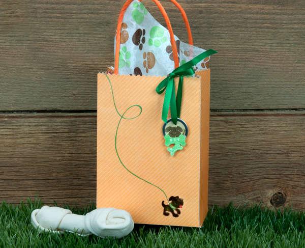 Doggie Gift Bag by Jennifer Brown