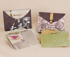 Recipe / Coupon Holder - by Jennifer Brown
