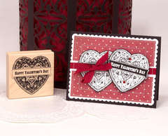 Two Hearts Card - by Catherine Matthews-Scanlon