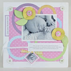 Baby Layout - by Kelly Keller