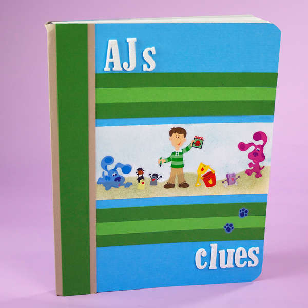 Blue's Clues Composition Book by Designed By Corrine Mihlek-Brzys