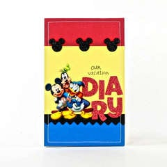 Disney Vacation Diary Designed By Elizabeth Barboza