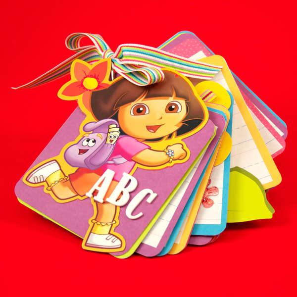 Dora ABC Book Designed By Dana DeCarlo