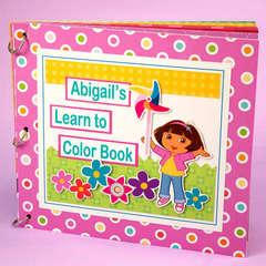 Dora's Learn to Color Book Designed By Elizabeth Barboza