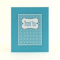 Easy Thank You Card - by Elizabeth Barboza