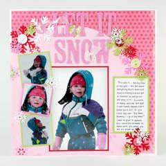Let it Snow - by Karen Bulmahn