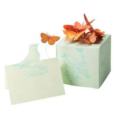 Butterfly Box and Table Card Designed By Martha Stewart Crafts™