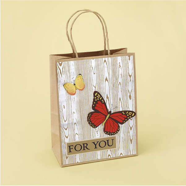 Butterfly Gift Bag Designed By Martha Stewart Crafts
