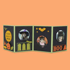 Halloween Accordion Photo Card