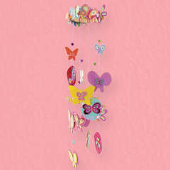 Butterfly Mobile Designed By American Girl Crafts