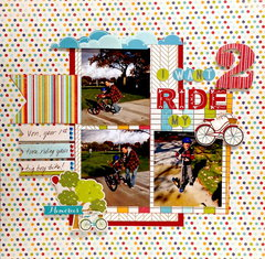 I want to ride my bike layout