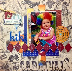 Kiki the Clown Layout